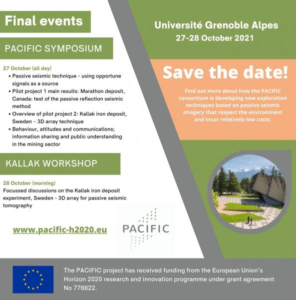 PACIFIC FINAL EVENTS SAVE THE DATE